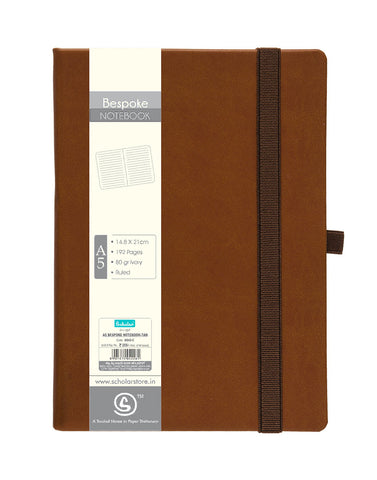 A5 BESPOKE NOTEBOOK - TAN