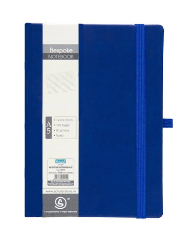 A5 BESPOKE NOTEBOOK - BLUE