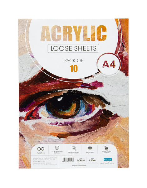 A4 Acrylic Loose Sheets - 360 Gsm (ACRL4)