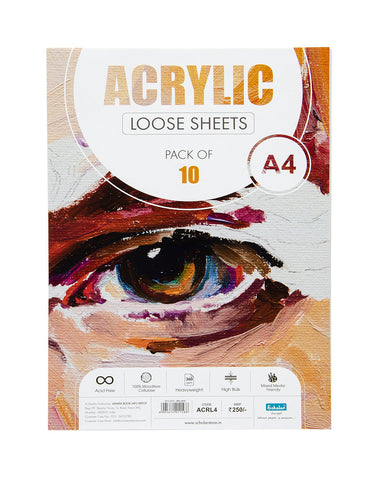 A4 Acrylic Loose Sheets - 360 Gsm (ACRL4) (Set of 2)