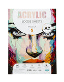 A3 Acrylic Loose Sheets - 360 Gsm (ACRL3)