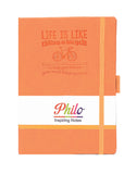 A5 PHILO NOTEBOOK - ORANGE