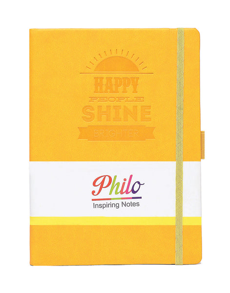 A5 PHILO NOTEBOOK - YELLOW