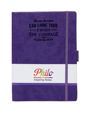 A5 PHILO NOTEBOOK - VIOLET