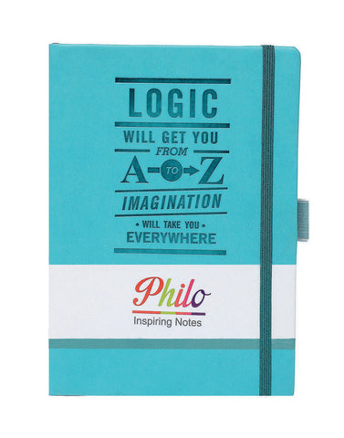 A5 PHILO NOTEBOOK - BLUE