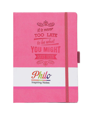 A5 PHILO NOTEBOOK - MAGENTA