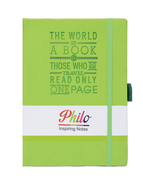 A5 PHILO NOTEBOOK - GREEN (PHN2-G)