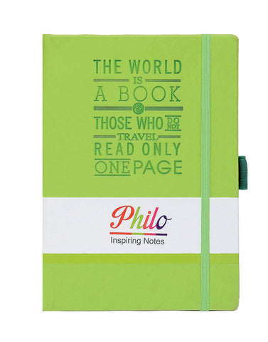 A5 PHILO NOTEBOOK - GREEN