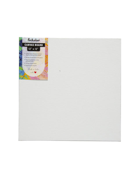 12''x12'' Canvas Board (Set of 4) (CV1212)