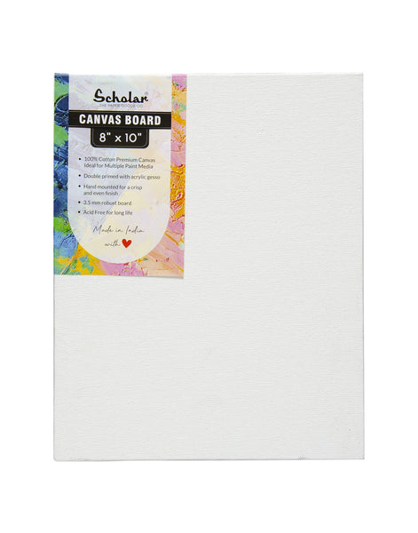 8''x10'' Canvas Board (Set of 4) (CV810)
