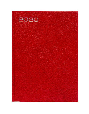 A4 Finesse Diary 2020 - Red