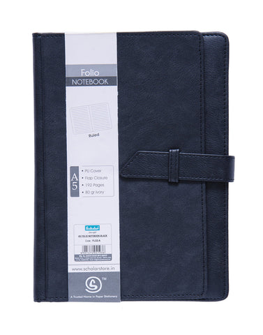A5 FOLIO Notebook - Black