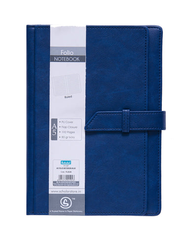 A5 FOLIO Notebook - Blue