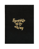 A5 BLING - SPARKLE ALL THE WAY NOTEBOOK (Set of 2)
