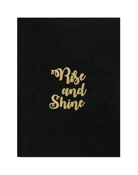 A5 BLING - RISE AND SHINE NOTEBOOK (Set of 2) (KBL2-B)