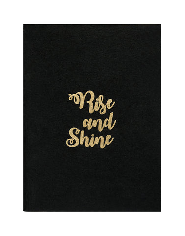 A5 BLING - RISE AND SHINE NOTEBOOK (Pack of 2)