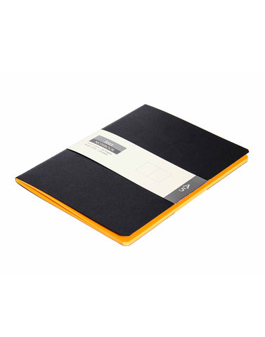 A5 JAZZ NOTEBOOK - ORANGE (Set of 2)