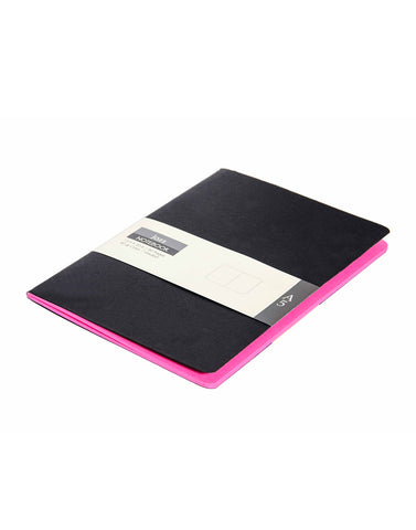A5 JAZZ NOTEBOOK - PINK (Set of 2)
