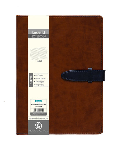 B5 LEGEND NOTEBOOK - DEEP TAN