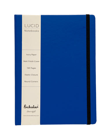 A5 LUCID NOTEBOOK - BLUE (LUC2-B) (Set of 2)