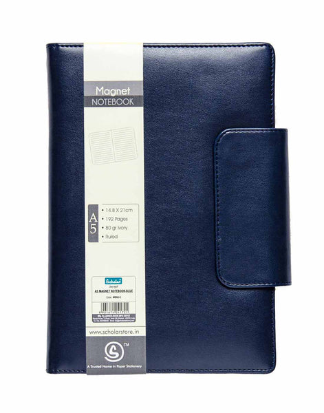 A5 MAGNET NOTEBOOK - BLUE (MBN2-C)