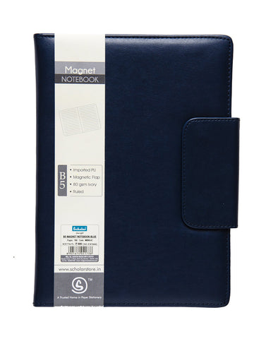 B5 MAGNET NOTEBOOK - BLUE (MBN3-C)