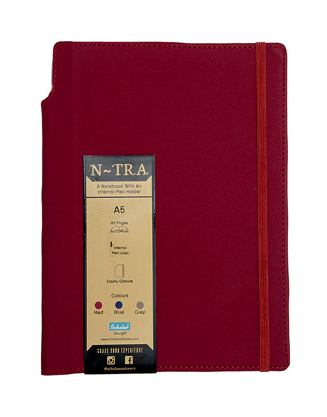 A5 N-TRA NOTEBOOK - MAROON (NTR2-M)