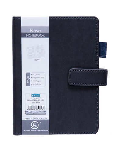 A6 NOVA NOTEBOOK - GREY (NVB1-A)