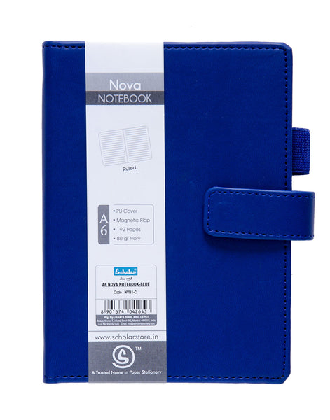 A6 NOVA NOTEBOOK - BLUE (NVB1-C)