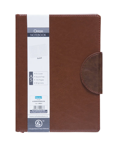 A5 ORION NOTEBOOK - TAN (ORN2-A)