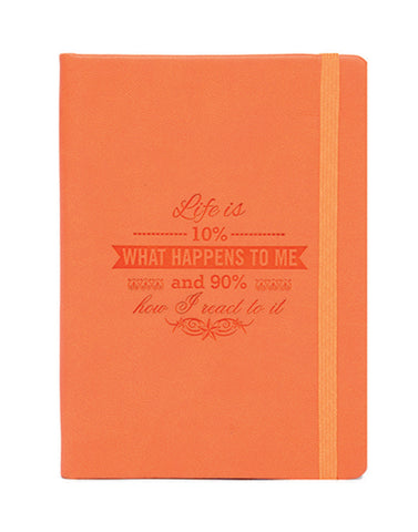 A6 PHILO NOTEBOOK - ORANGE