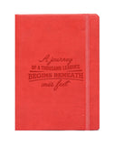 A6 PHILO NOTEBOOK - RED  (PHN1-R)
