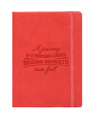 A6 PHILO NOTEBOOK - RED