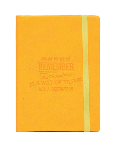 A6 PHILO NOTEBOOK - YELLOW
