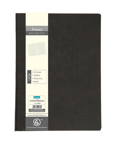 A5 PRISMA NOTEBOOK - GREY (PSM2-A)
