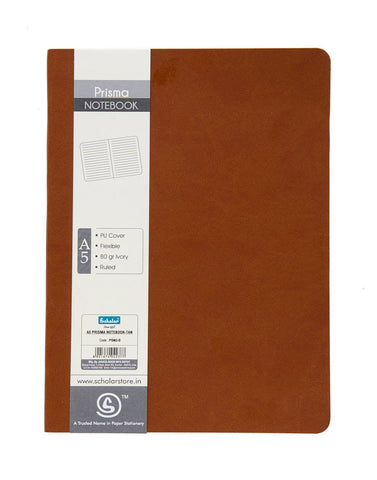 A5 PRISMA NOTEBOOK - TAN (PSM2-B)