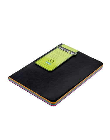 A5 CREANOTE NOTEBOOK  - COLORMIX (RBN2-CM)