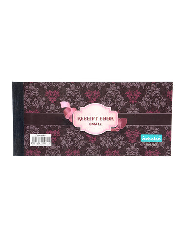Receipt Book - Small (Pack of 5) (RBS)