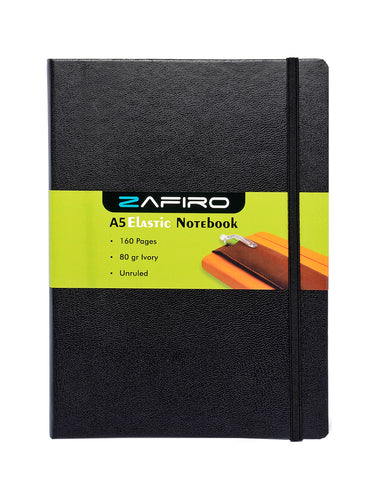 A5 ZAFIRO NOTEBOOK (Unruled)