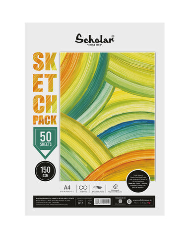 A4 Sketch Pack - 150 GSM (PACK OF 2) (SPL5)