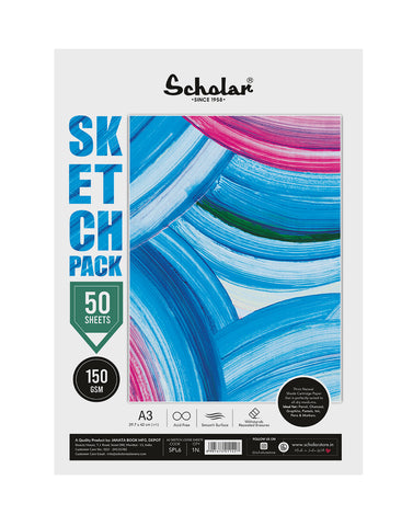 A3 Sketch Pack - 150 GSM