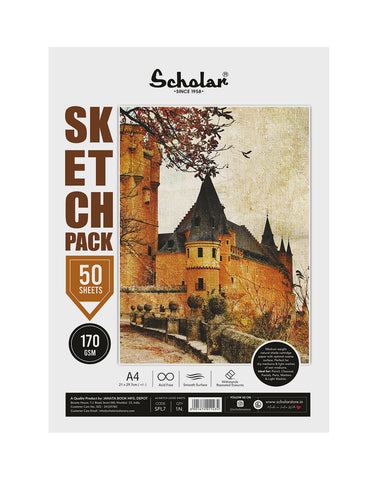 A4 Sketch Pack - 170 GSM (PACK OF 2) (SPL7)