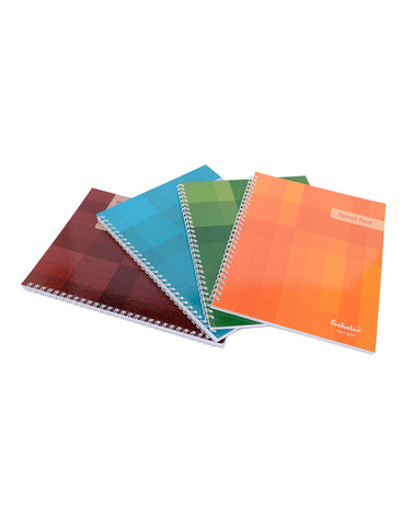 B5 Side Bound Spiral Notepads (Pack of 5)