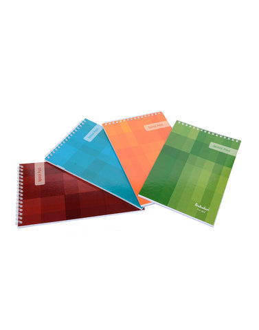 A5 Top Bound Spiral Notepads (Pack of 5) (SPT6)
