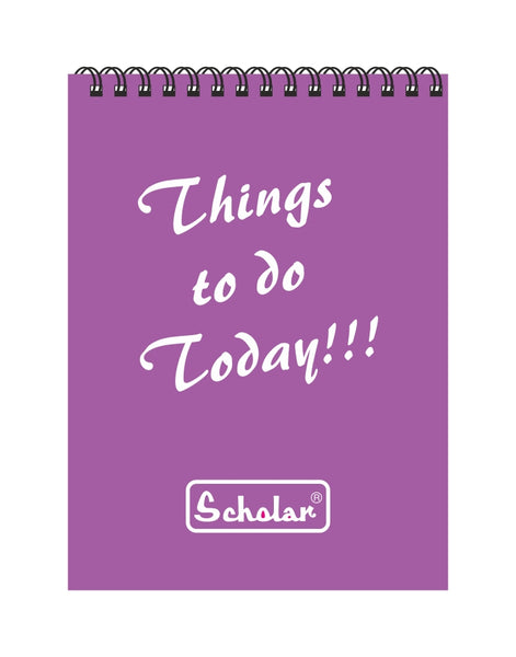 A7 Things to do Pad (Pack of 10)