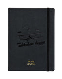 A5 - TRAVEL JOURNAL NOTEBOOK - BLACK (TJ2-A)