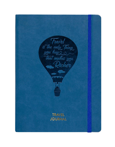 A5 - TRAVEL JOURNAL NOTEBOOK - TEAL (TJ2-B)