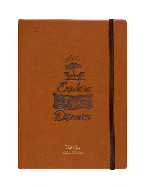 A5 - TRAVEL JOURNAL NOTEBOOK - TAN