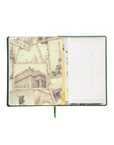 A5 - TRAVEL JOURNAL NOTEBOOK - DARK GREEN (TJ2-D)