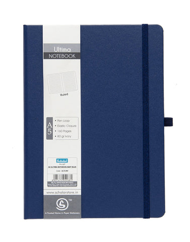 A5 ULTIMA NOTEBOOK - NAVY BLUE (ULT2-NV)